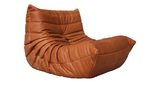TOGO Ligne Roset Fireside Cognac Leather