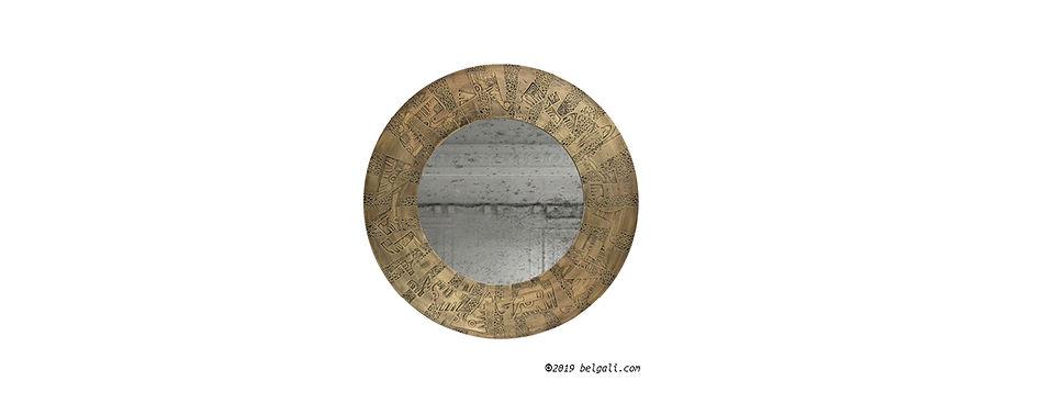 pandora brass antique mirror belgali.jpg