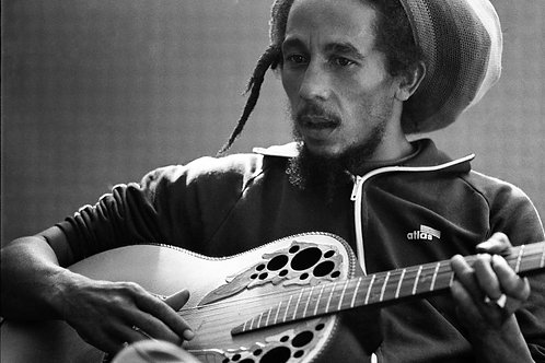 Bob Marley Guitar Nr 77 Alu panel