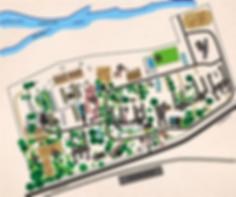Oude Molen Village Map