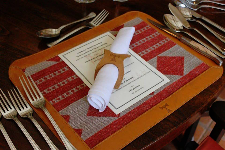 Place Mats and Napkin Holders