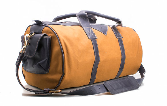 Jamuhuri Bag Leather & Canvas