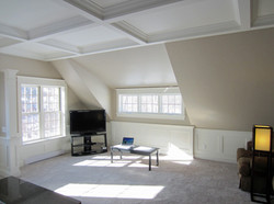 Beautiful coffered ceiling