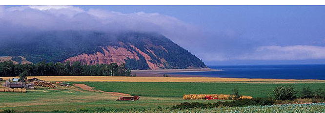 View of Blomidon Wolfville