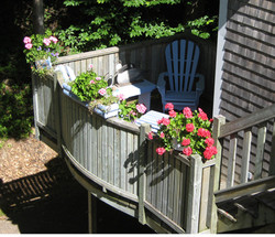 Private deck with wifi