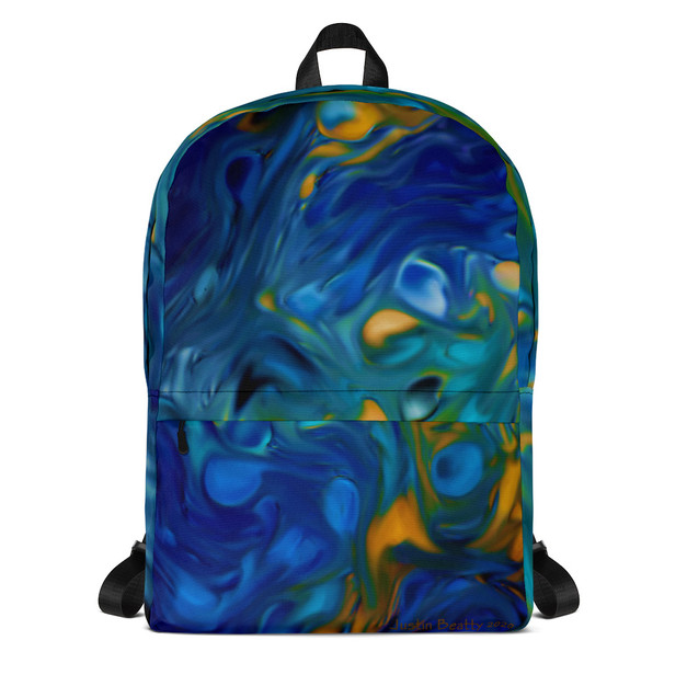 """Blue Trauma"" Backpack"