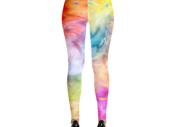 Falling In Happiness All-Over Print Leggings