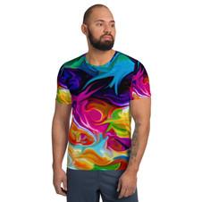 """My Beautiful Turmoil"" Unisex Athletic T-Shirt"
