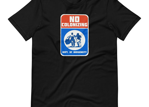 No Colonizing East Coast Short-Sleeve Unisex T-Shirt