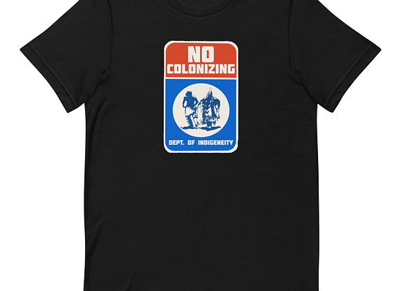 No Colonizing West Short-Sleeve Unisex T-Shirt
