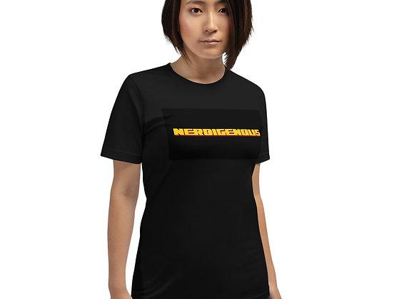 """Nerdigenous"" Short-Sleeve Unisex T-Shirt"