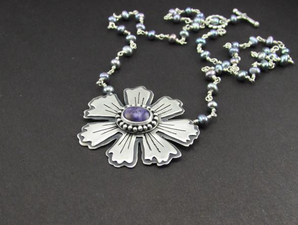 Katie's Flower Necklace