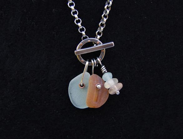 Aruba Seaglass Necklace