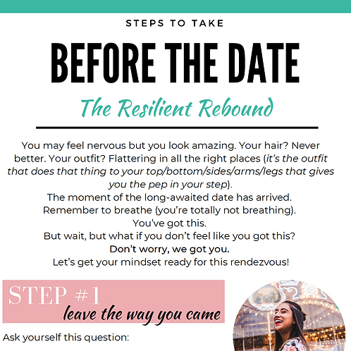 Steps to Take Before the Date