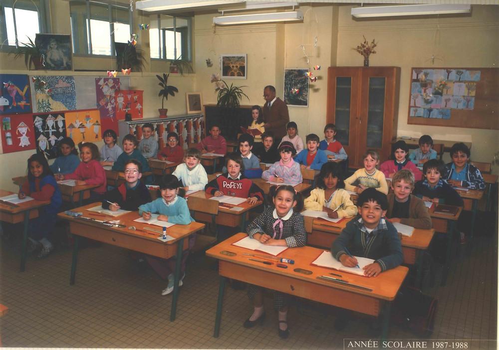 photo de classe année 80