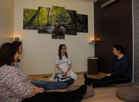 Mon premier atelier de méditation guidée