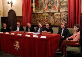 Presentación en rueda de prensa presidida por el Alcalde de Lleida, Àngel Ros.