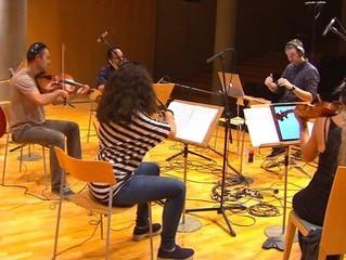 'Vida Privada' enregistra la seva banda sonora a l'Auditori Municipal de Lleida