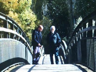 Joan Vall Karsunke roda escenes de 'Cenestesia' al Parc de la Mitjana de Lleida