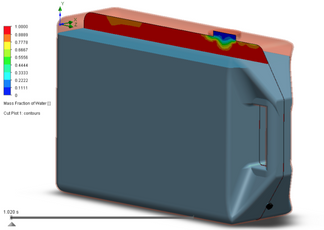 SolidWorks Tank Design and CFD Analysis