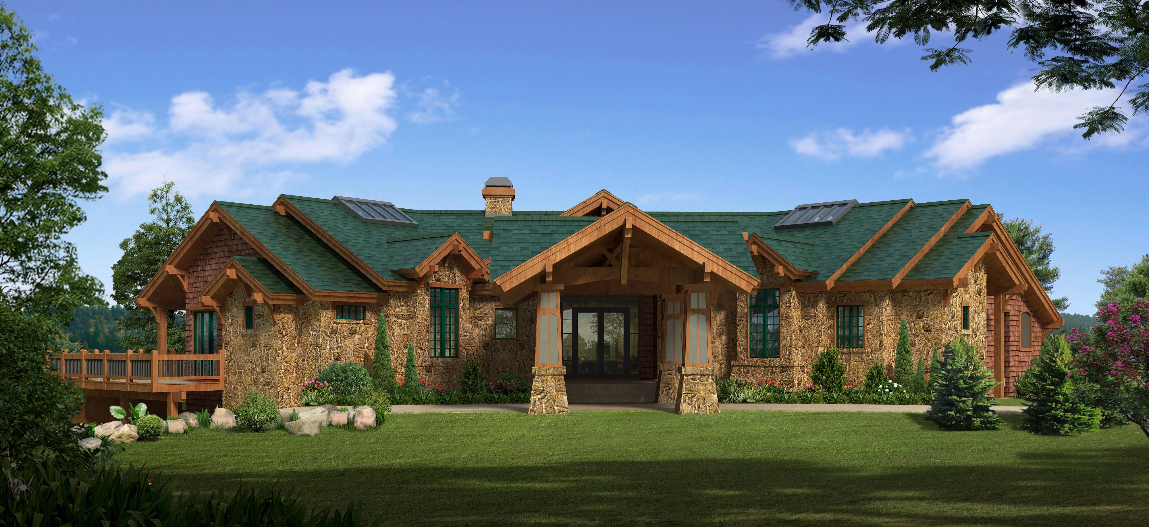 Daylight Basement Style Home