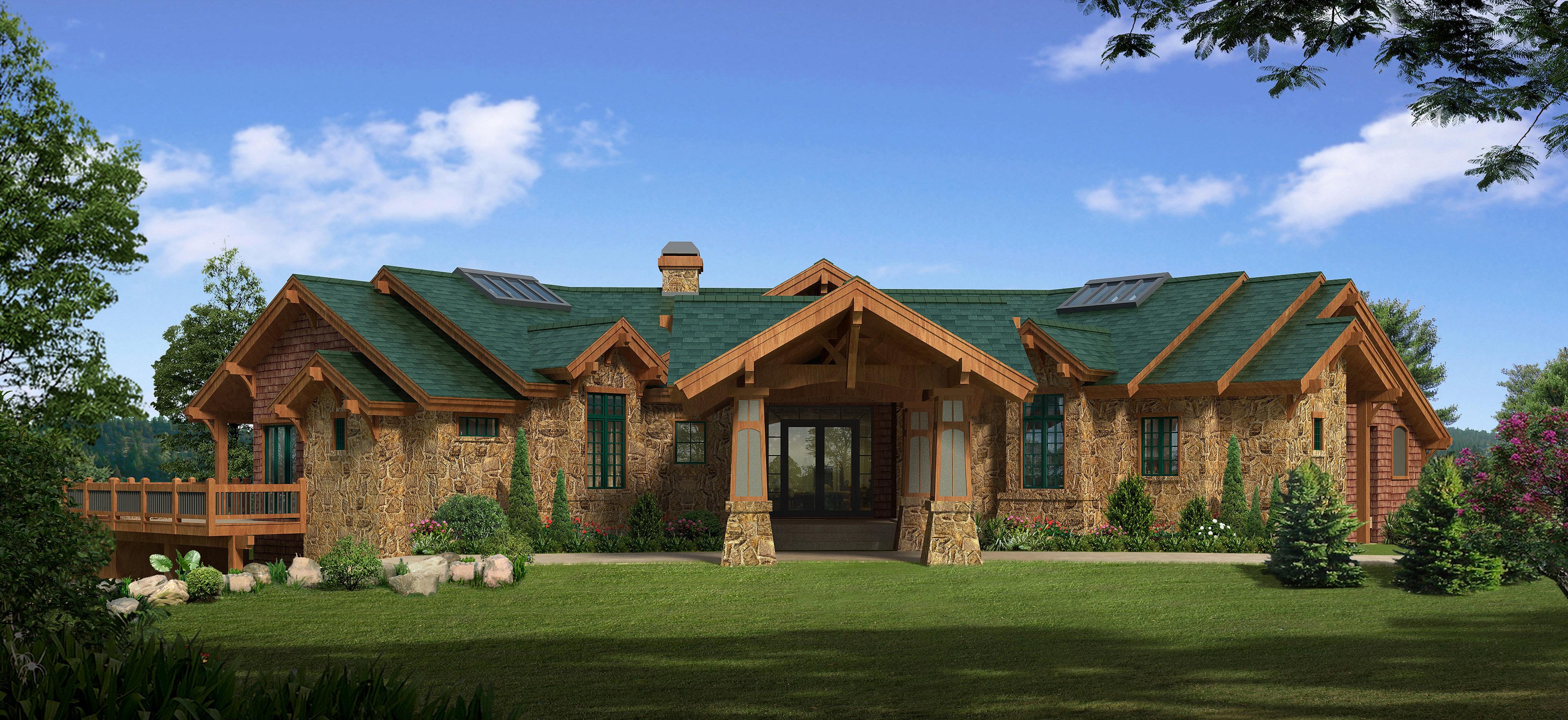 Mackprang design home design central oregon daylight for Daylight basement house plans designs