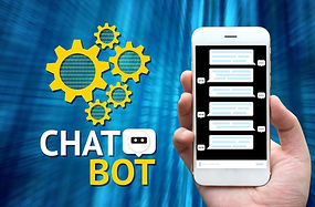 Chat bot and future marketing concept ,