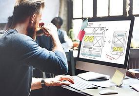 Web Design Online Technology Content Con