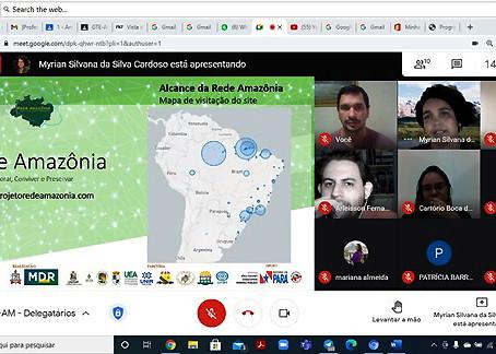 Intercâmbio de conhecimentos com a Anoreg - Amazonas