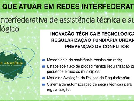 Gestores da CR-UFPA e do CAU-BR prosseguem o debate institucional sobre a adesão à Rede Amazônia