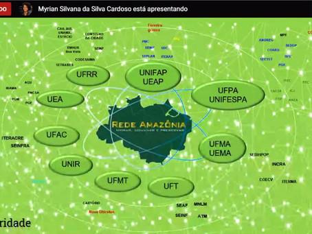 13ª Webconferência destaca crescimento da Rede Amazônia e planejamento dos fóruns estaduais.