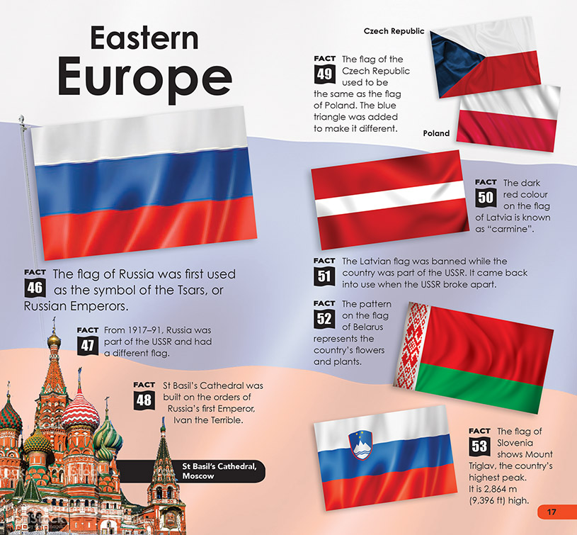 SDB Flags of the World p16-17