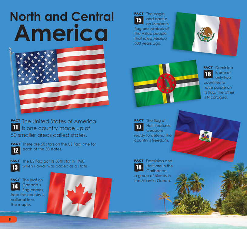 SDB Flags of the World p8-9