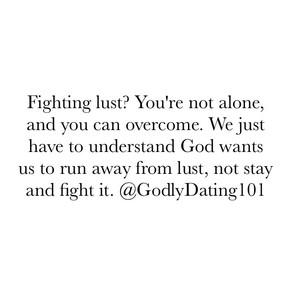 Fighting Lust?