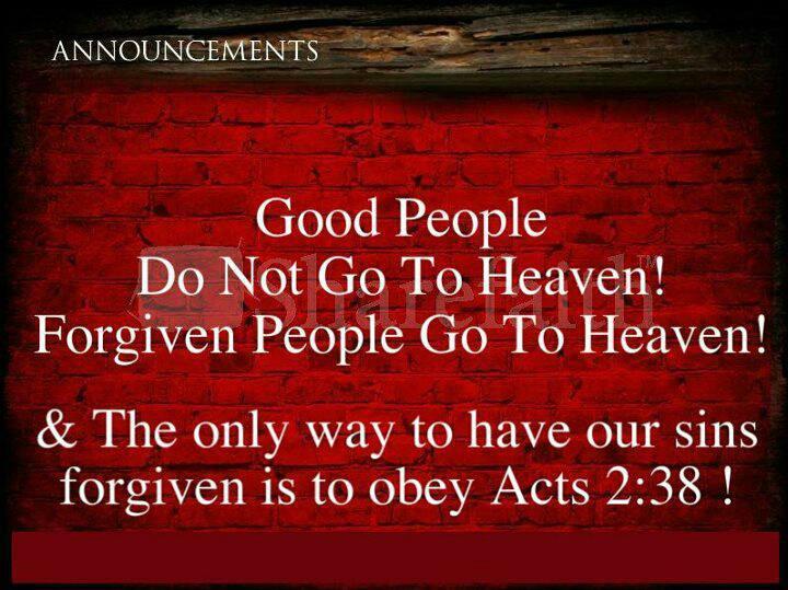 heaven forgiveness