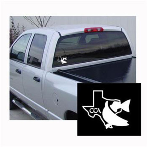cca, cca texas, cca decal, texas decal, boat decal, rv decal, decal, texas, redfish decal