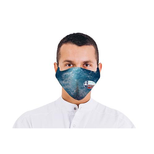 Salty Texan Face Mask - Water