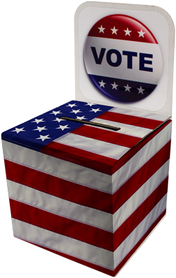 Ballot Box- Full Color w/ Decal
