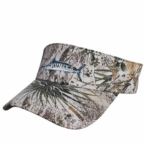 GameGuard Visor with Embroidered Marlin CCA Logo