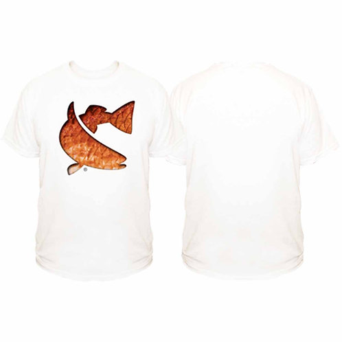 cca, cca texas, redfish tee, cca tee, sublimated tee, fishing tee, twisted fish