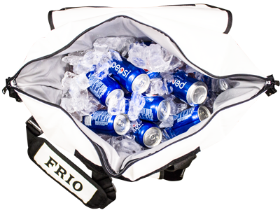 Holds 24 Cans w/ Sufficient Ice