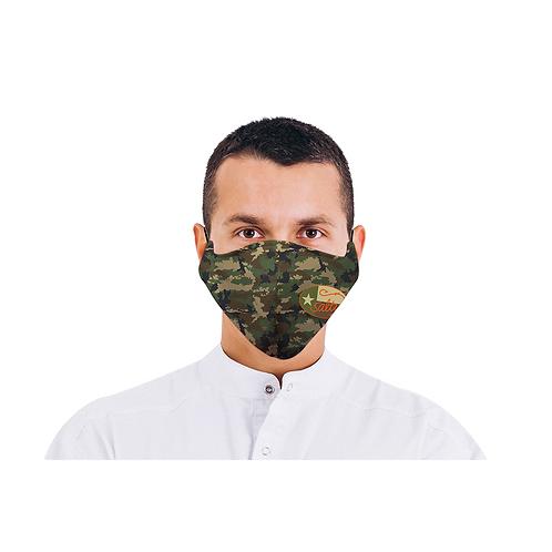 Salty Texan Face Mask - Frio Camo