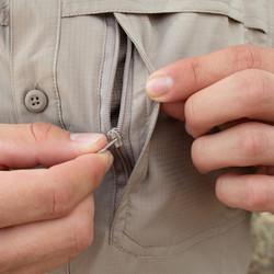 1 Hidden Zippered Pocket