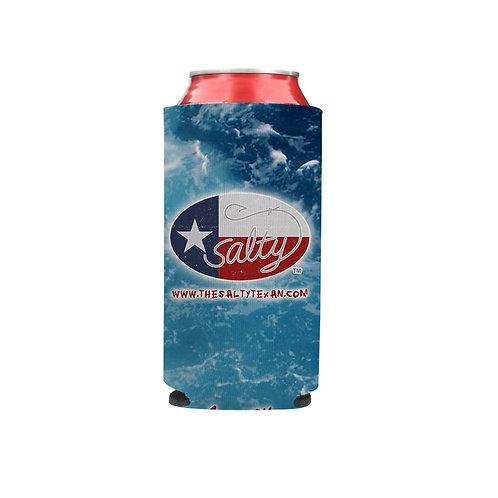 Salty Texan Slim Beverage Hugger - Saltwater