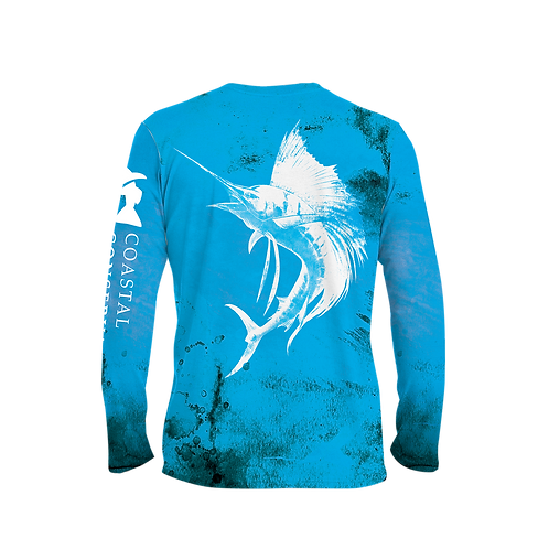 CCA Sailfish Long Sleeve Performance Tee