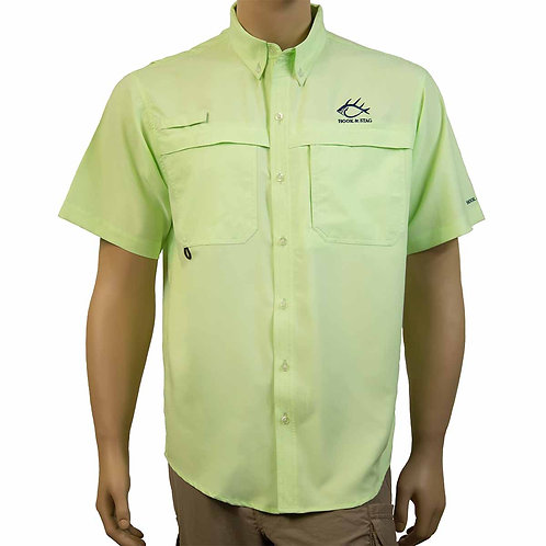 Light weight, Button Down, Fishing Shirt, Vented Back, Fishing, Hook & Stag, Hook and Stag
