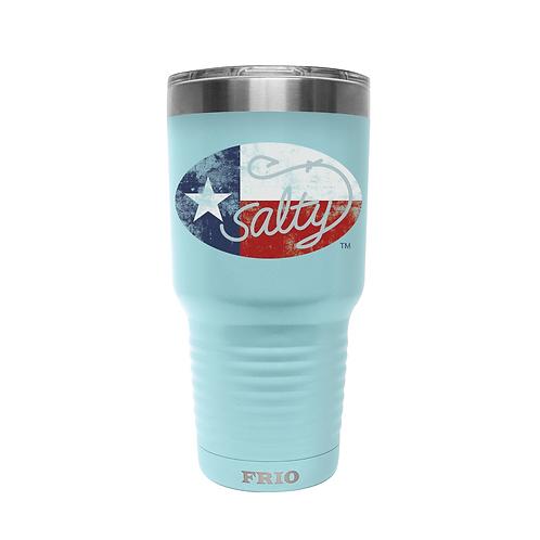 30oz w/ Salty Texan Logo