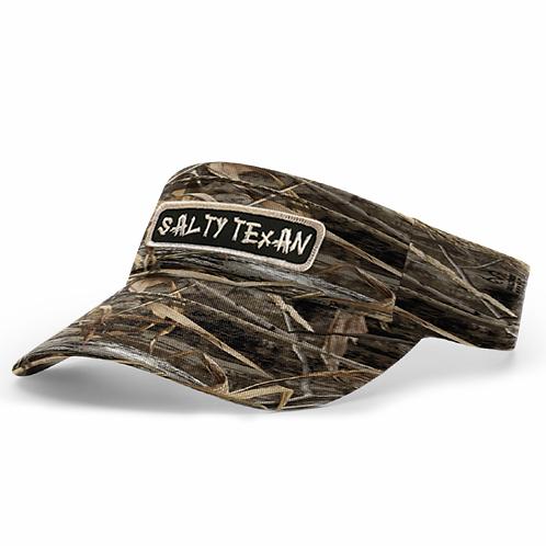 RealTree Camo Visor w/ Salty Texan Badge