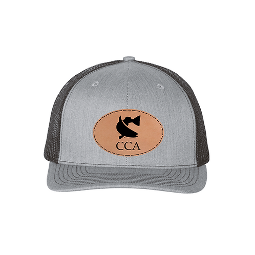Richardson Cap w/ Leather CCA Badge