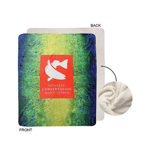 Luxury Mink-Touch CCA Mahi Mahi Blanket